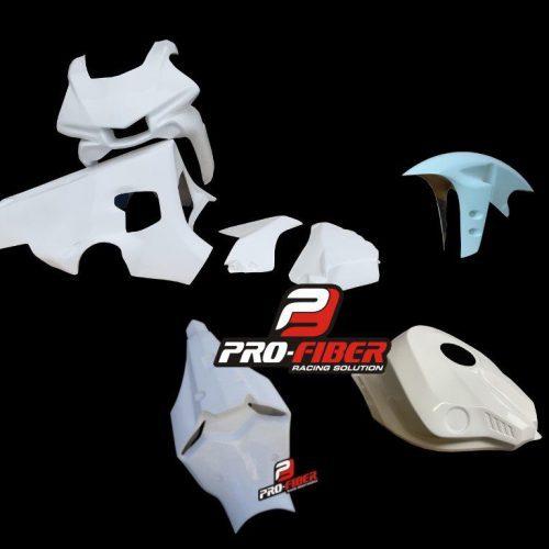 Fiberglass_front_fairings_complete_tank cover_seat_unit_Yamaha YZF_R1_2015_