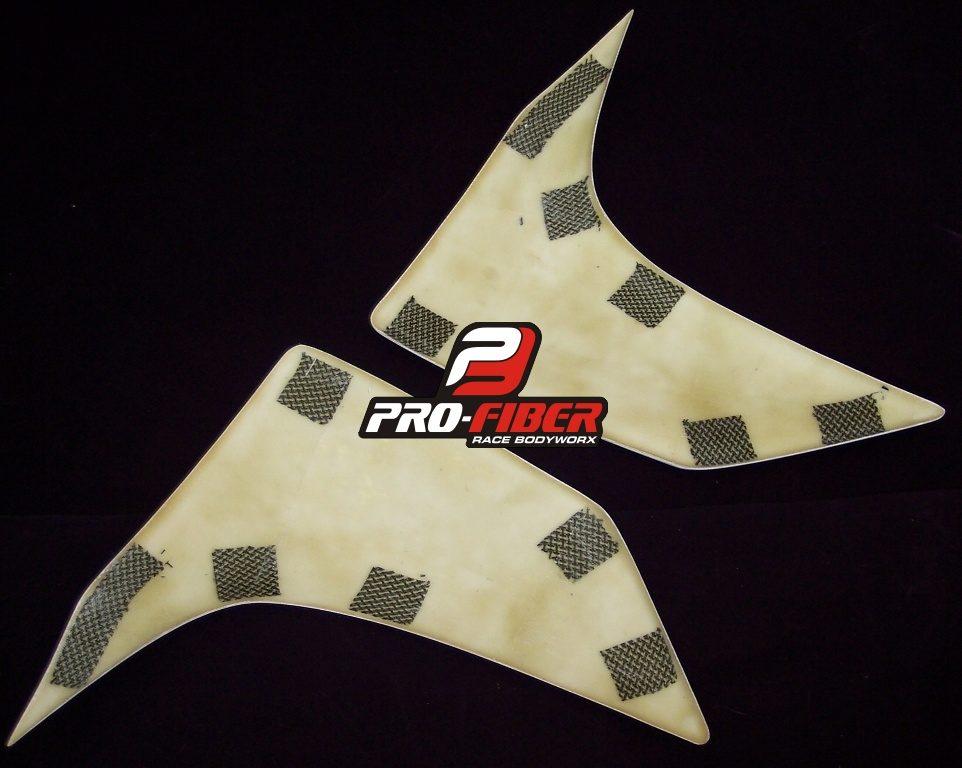 Fiberglass Race Fairing With Foam Sbk Race Seat Unit For