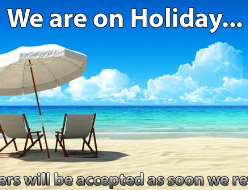 SUMMER HOLIDAYS – COMPANY CLOSURE NOTICE