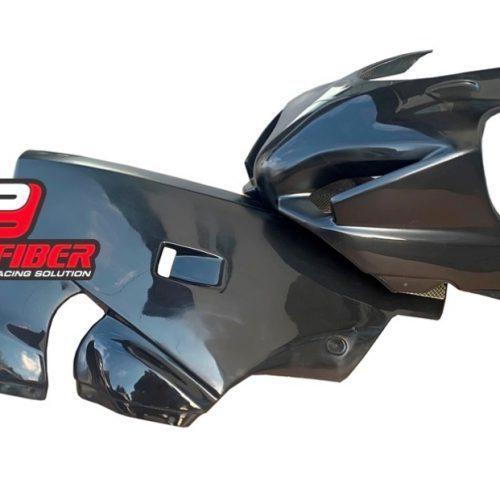 Black_fiberglass_complete bodywork_upper unit_belly pan_Suzuki_GSXR_2017_
